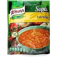 Knorr, Knorr Sopa Instantánea de Estrellitas sobre de 95 Gr, 95 gramos