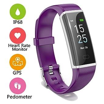 Unterhaltungselektronik Tragbare Geräte Wasserdicht Blutdruck Monitor Herz Rate Fitness Tracker Pedometer Schritt Zähler Vibrierende Wecker Intelligente Armband