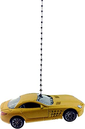 Mercedes AMG GT Dark Grey Mercedes Benz Diecast Ceiling Fan Light Pull Chain Ornaments