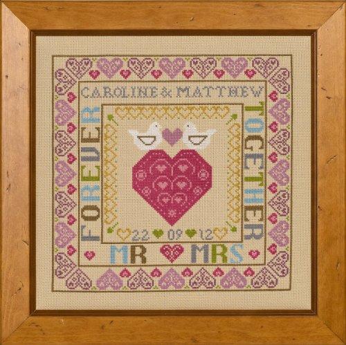 Bird & Heart Wedding Sampler ()