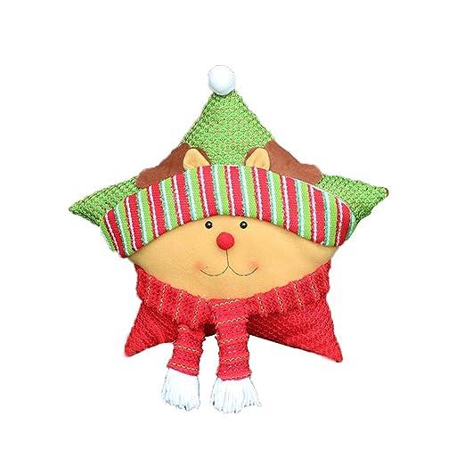 meigold Navidad muñeco de nieve para decoración navideña ...