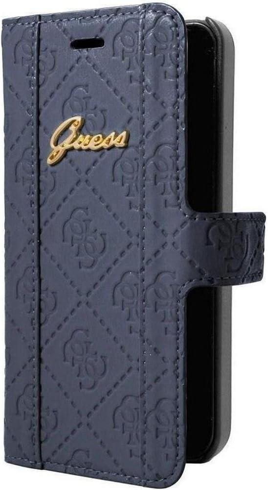 Guess Collection Book - Funda cartuchera para Apple iPhone 6, azul: Amazon.es: Electrónica