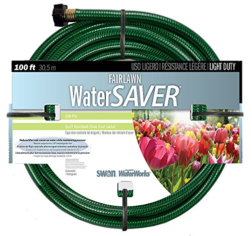 Light Duty Garden Hose (Swan SNFA12100 Fairlawn Light Duty 1/2-Inch by 100-Feet Garden Hose)
