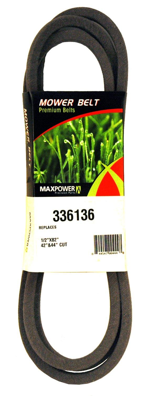 Maxpower 336136 Hydroriemen ersetzt Poulan//Husqvarna//Craftsman 140294 532140294