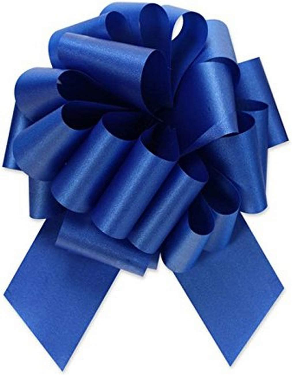 Berwick Offray Ribbon Pull Bow, 8'' Diameter with 20 Loops, Royal Blue: Arts, Crafts & Sewing