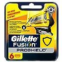 Gillette Fusion Proshield Cuchillas de Recambio para Maquinilla de Afeitar (6 Recambios) - 1 Unidad