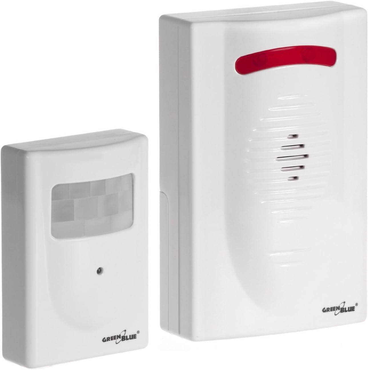DC3400 - Alarma inalámbrica con sensor de movimiento independiente