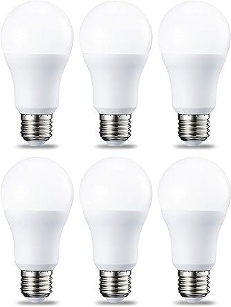 AmazonBasics Bombilla LED Esférica E27, 10.5W (equivalente a 75W ...