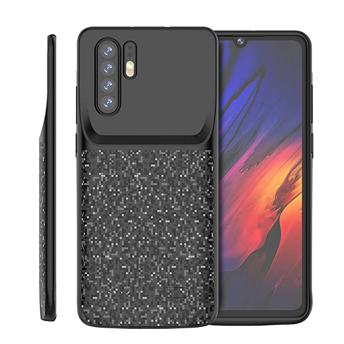 Huawei P30 Pro 4700mAh Battery Battery Charger Case, FugouSell Portable Rechargeable Extended Power Bank Backup External Juice Case Cover for Huawei ...