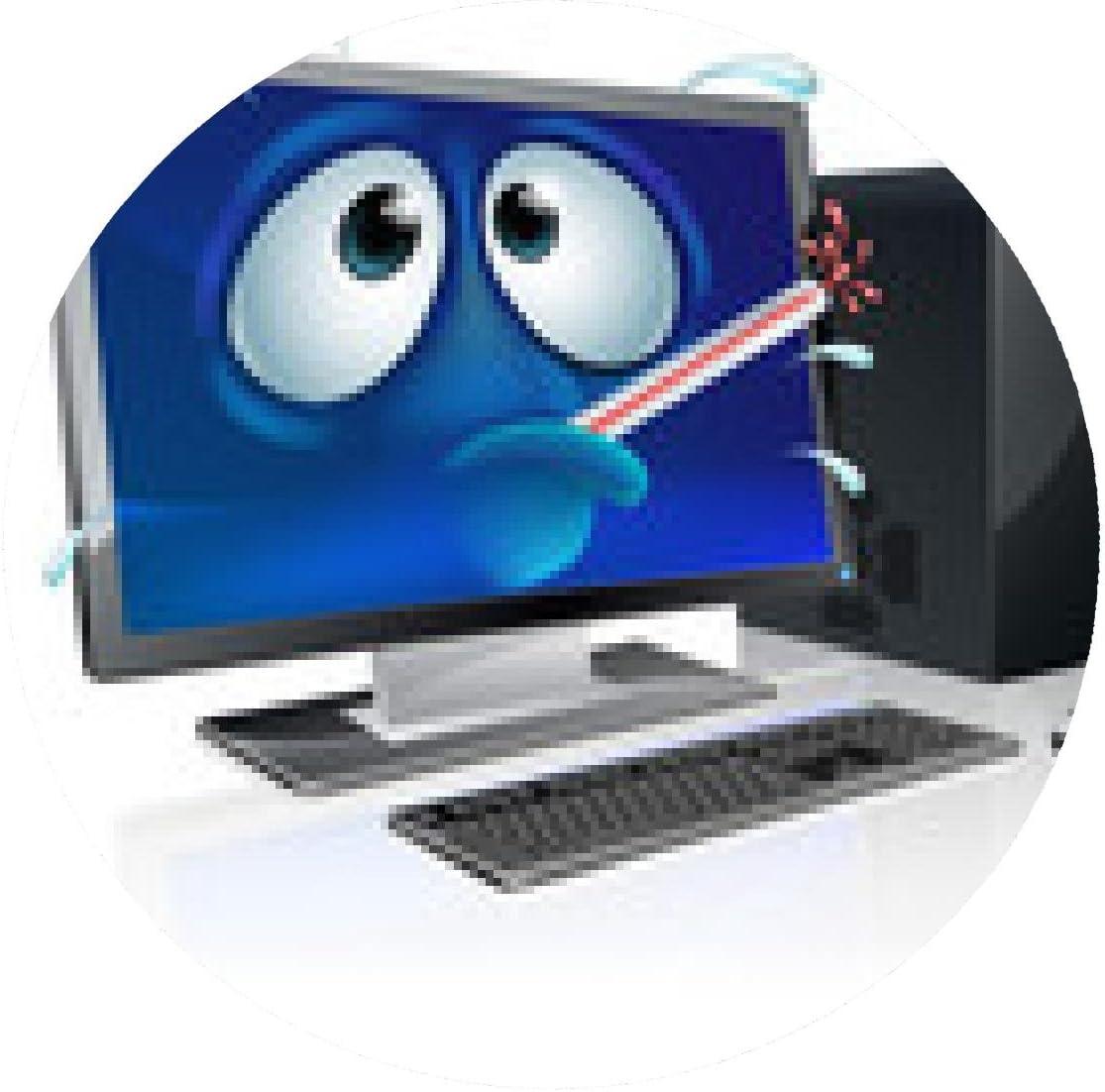 alfombrilla de ratón de dibujos animados virus informático ...