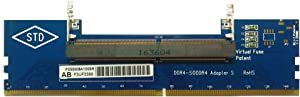 Laptop DDR4 RAM to Desktop Adapter Card SO DIMM to DDR4 Converter