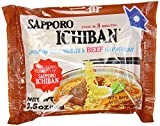Sapporo Ichiban Instant Noodle Bag, Beef, 3.5 Ounce
