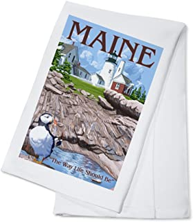 product image for Maine - The Way Life Should Be (100% Cotton Kitchen Towel)
