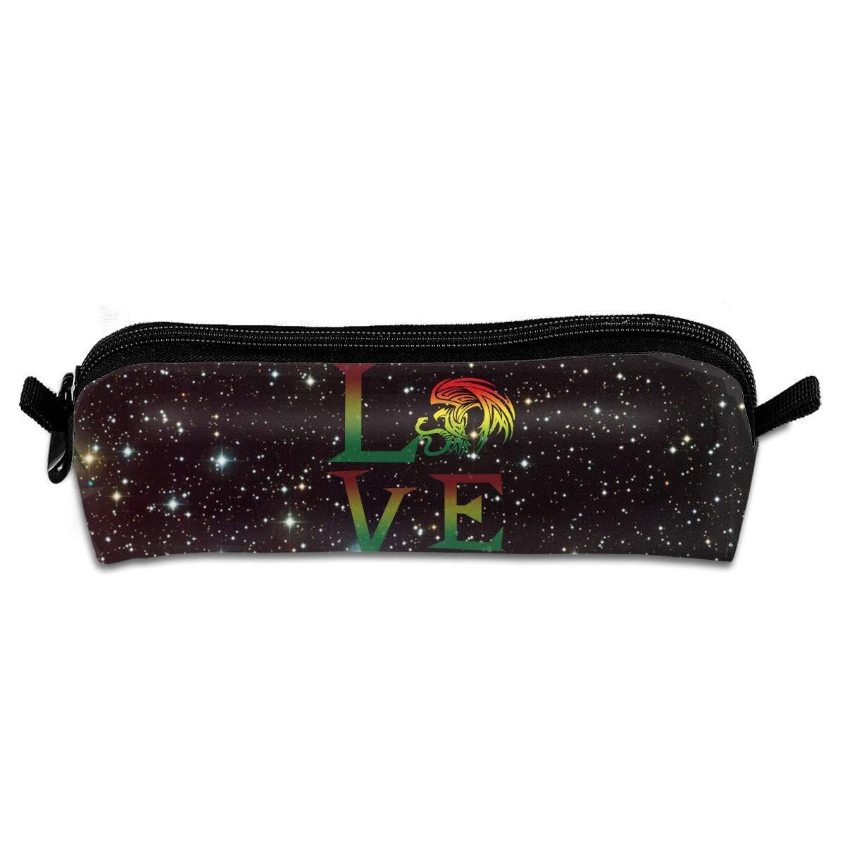 Rasta Lion Jamaican Reggae Love Bolsa de Maquillaje ...