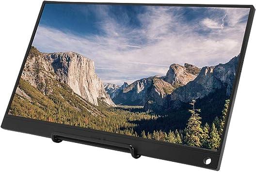 Lazmin Pantalla LED portátil, 15.6 en 1080P HDR IPS Pantalla LCD Digital para Consolas de Juegos portátil de Escritorio(#1): Amazon.es: Electrónica