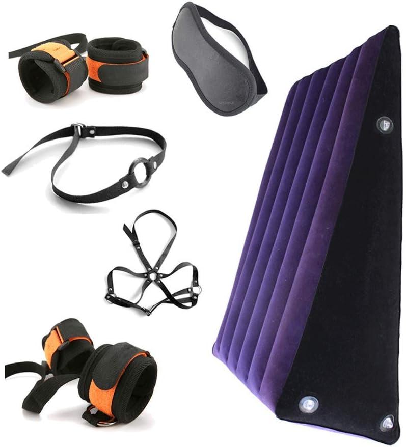 LITI Portable Foldable Sě-x-y Pillows for Position with Hőle Ádǚlt Sě-x-y Furniture Inflatable Lǐbërâtőr Wedge Pillow Miŝŝtu Leg Elevation Sě-x-y Cushion for Cőúplě Deeper Penetration Perfec