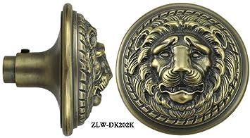 Victorian Schlage Recreated Large Lion Head Vintage Door Knob (ZLW ...
