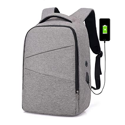 5be1c53423be Image Unavailable. Image not available for. Color  Laptop Smart Backpack - USB  Phone Charging ...