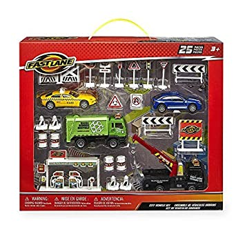 Fast Lane 1:43 Scale Diecast City Vehicle Set by Toys R Us ...