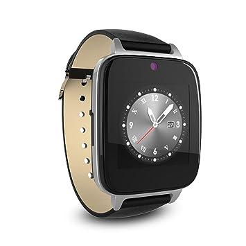 Cawono Smartwatch Bluetooth Reloj Inteligente con Cámara, TF / tarjeta SIM Ranura con Podómetro Función