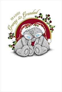 Me to You Tatty Teddy Christmas card–nonna e nonno