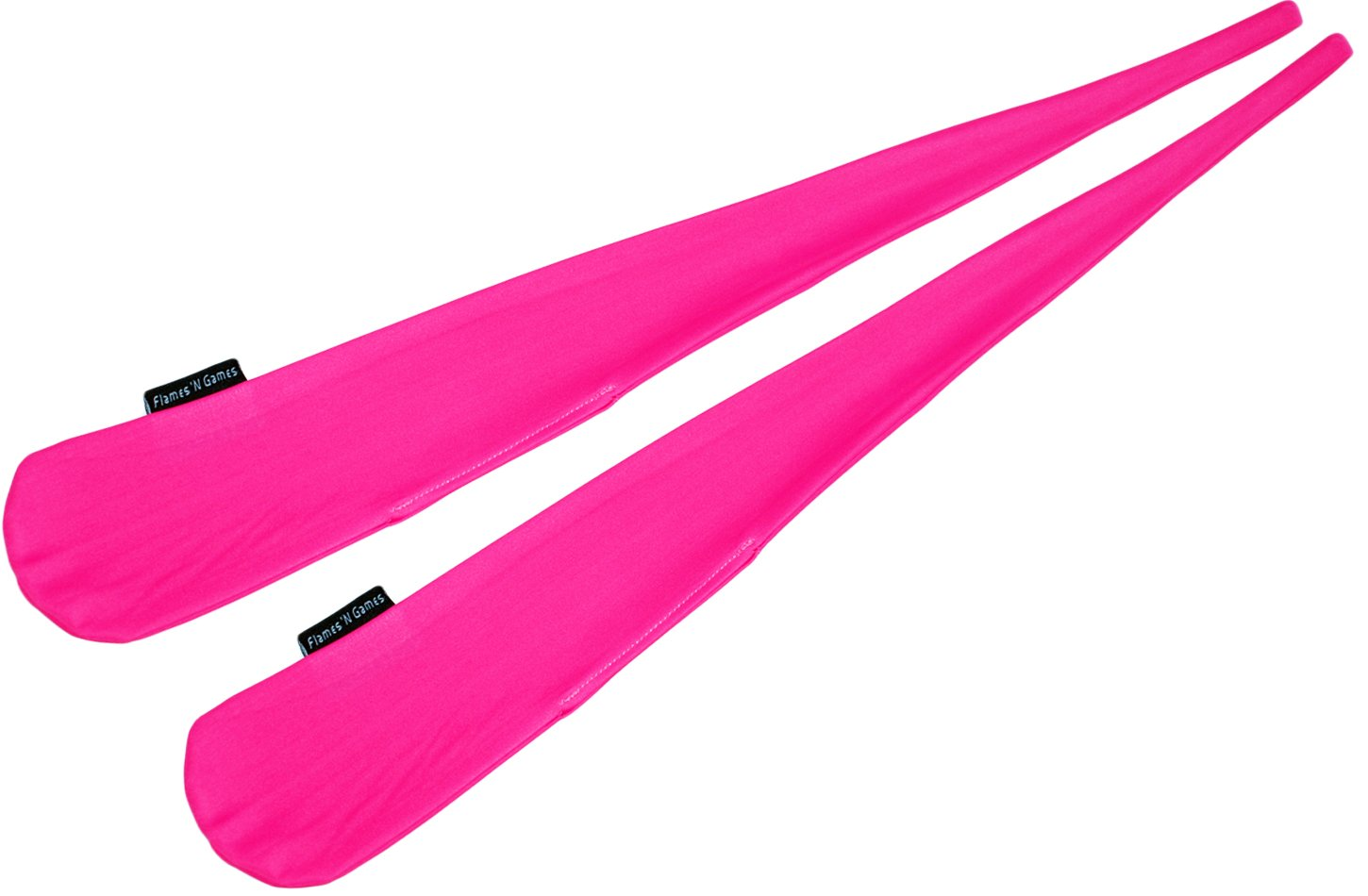 Pro Sock Poi (PINK) Flames N Games Pro Spinning Poi Socks - Pair of Quality Stretchy Lycra Poi Socks.