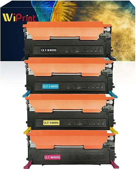6 PACK CLT-K409S Color And Black Toner For Samsung CLP-315 CLP-310 CLX-3175 3170
