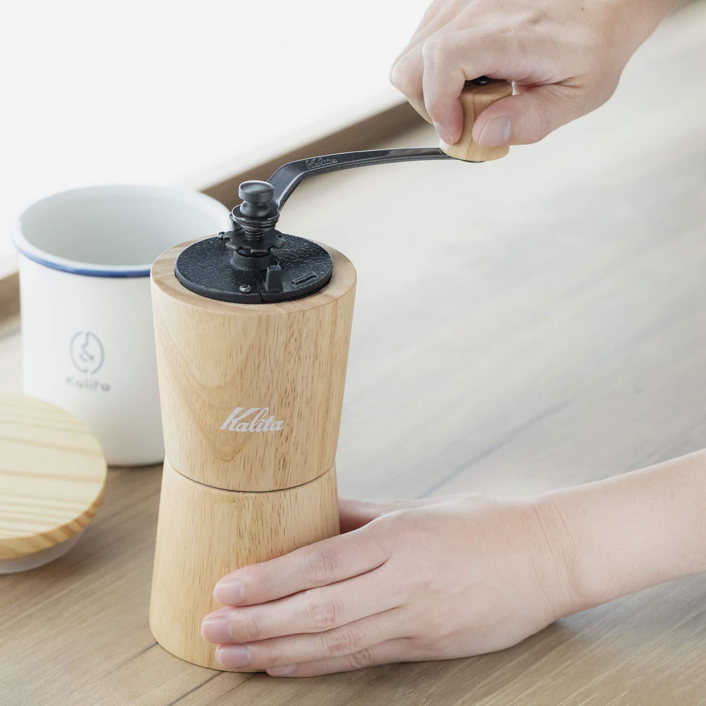 Kalita Manual Coffee Grider, KV-1N (Color: Natural) by Kalita (Image #3)