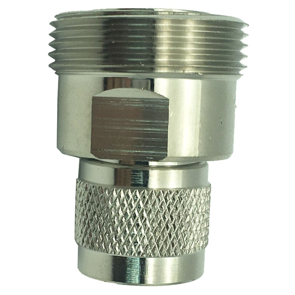 Dong DIN RF Coaxial Connector Adapter L29 7/16 DIN Female Jack to N Type Male Plug Converter