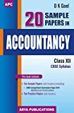 20 Sample papers in Accountancy Class XII