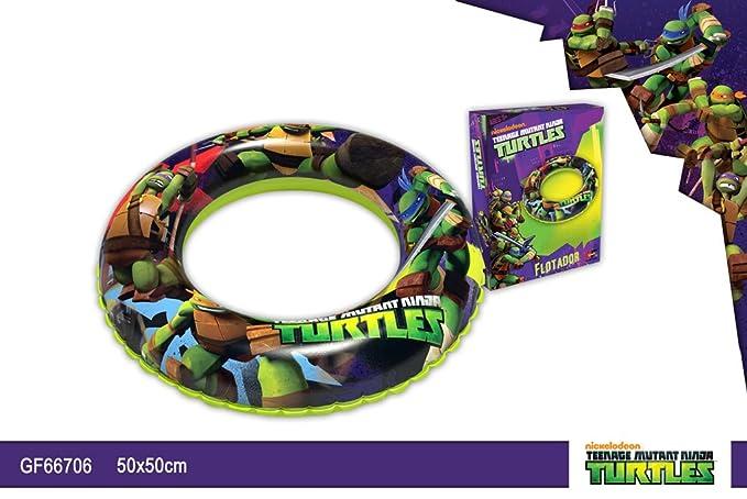 Flotador 50cm Tortugas Ninja: Amazon.es: Juguetes y juegos