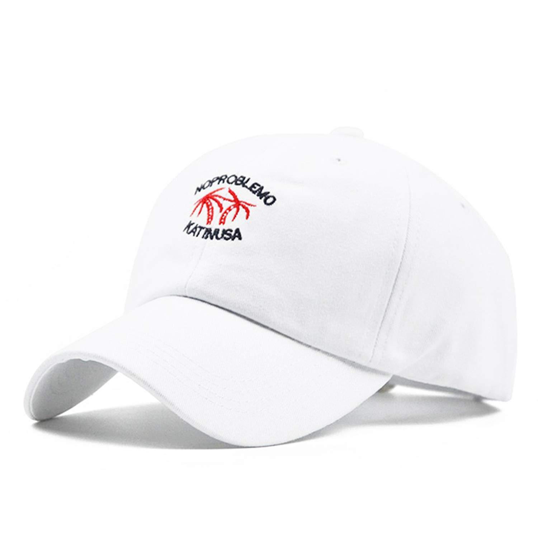 Rzxkad Coconut Tree Embroidery Baseball Cap Summer Cotton Hats Retro Caps Women Bone Girl Hats for Men Trucker Cap