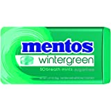Mentos Sugar-Free Breath Mints, Wintergreen, 1.27 Ounce (Pack of 12)