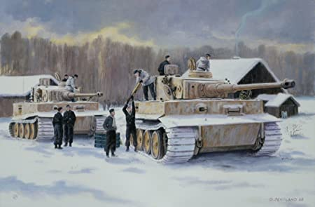 Rearm and Resupply by David Pentland  World War Two Military Tank