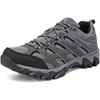 Corriee Mens Hiking Shoes Mens Athletic Outdoor Non-Slip Sports Shoe Travel Sneakers