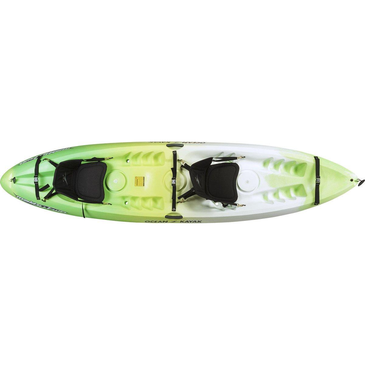 Ocean Kayak Malibu Two Tandem Sit-On-Top Recreational Kayak, Envy, 12 Feet by Ocean Kayak