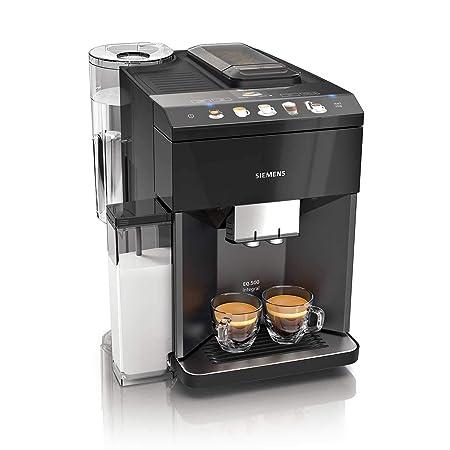 Siemens TQ505R09 Cafetera espresso superautomática, EQ.500, Negro ...