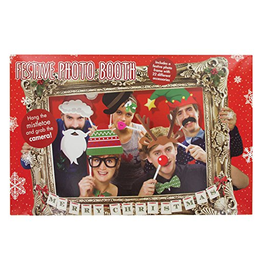 Festive Photo Booth Props with Card Frame (Photo Booth Card Frame)