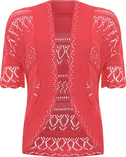 Cardigan Donna WearAll Donna WearAll WearAll Rosa Fluorescente Rosa Fluorescente Cardigan twxSq07fxE