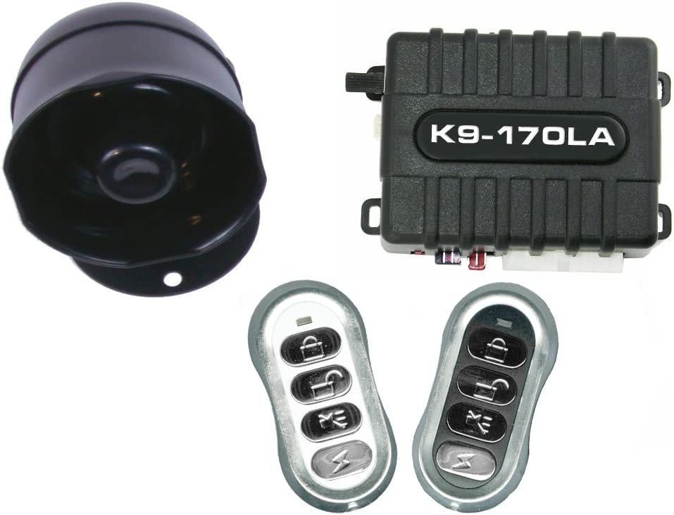 K9 K9170LA Keyless Entry and Car Alarm Security System
