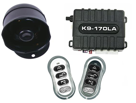 Amazon.com: K9 Keyless Entry y alarma sistema de seguridad ...