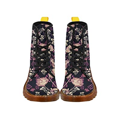Shoes Dice Lace Up Martin Boots For Women