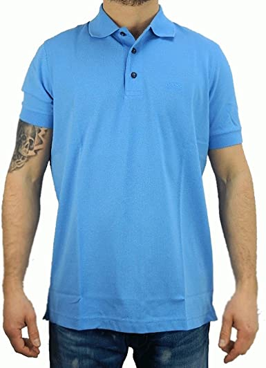 Hugo Boss - Polo - para Hombre Azul Small: Amazon.es: Ropa y ...