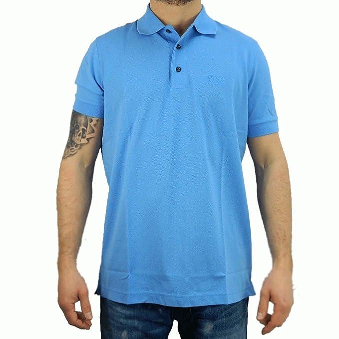 BOSS Hugo Polo - para Hombre Azul Medium: Amazon.es: Ropa y accesorios