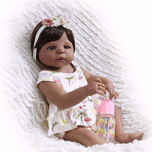 Amazon.com: Muñecas de silicona para bebé de 22 pulgadas ...
