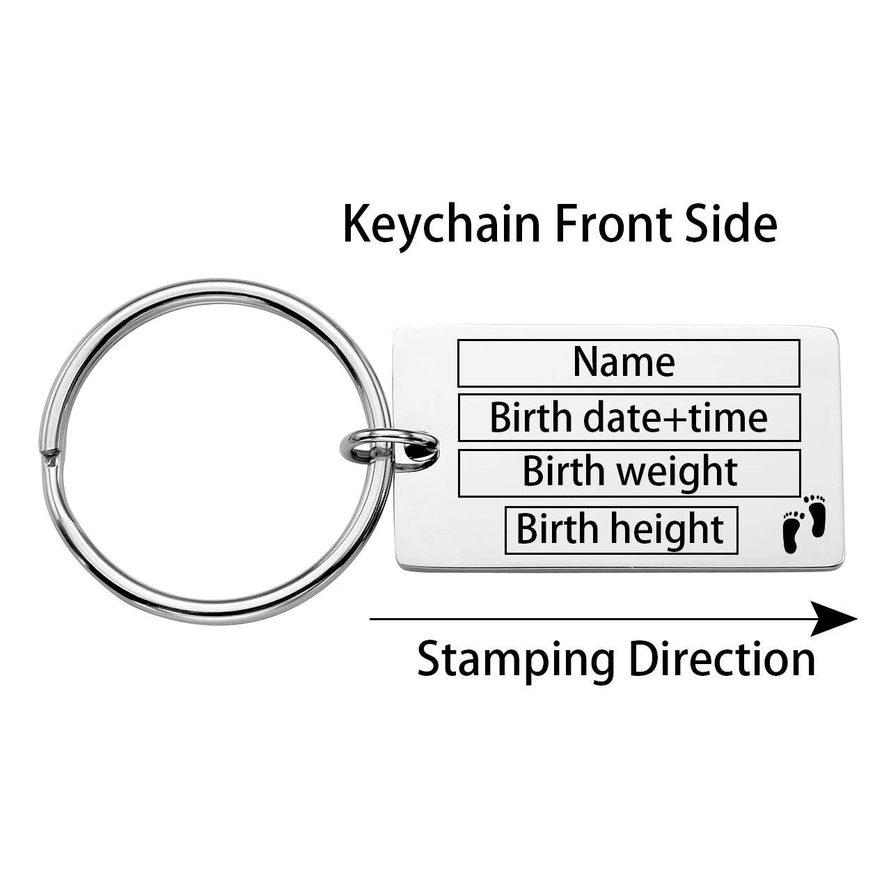 Amazon.com: Llavero personalizado con grabado personalizado ...