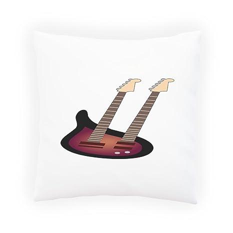 Banda De Música De Guitarra Eléctrica Almohada decorativa, Funda de cojín con inserto o sin