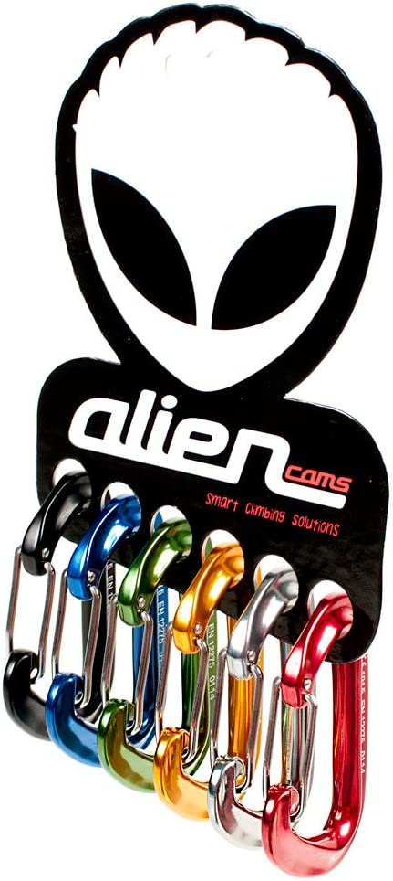 Alien Cams A00367 - Mosquetones (pack con 6 unidades ...