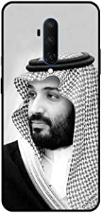 For OnePlus 7T Pro Case Cover Mohammad Bin Salman B&W Picture