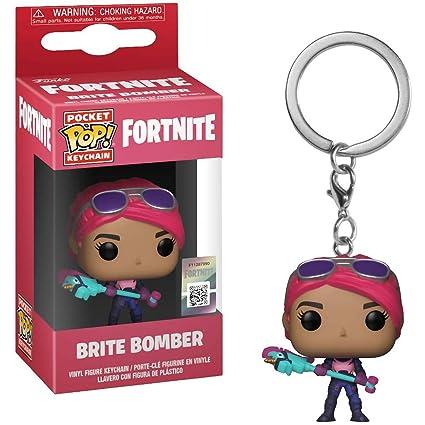 Amazon.com: Funko Brite Bomber: Fortnite x Pocket POP! Mini ...
